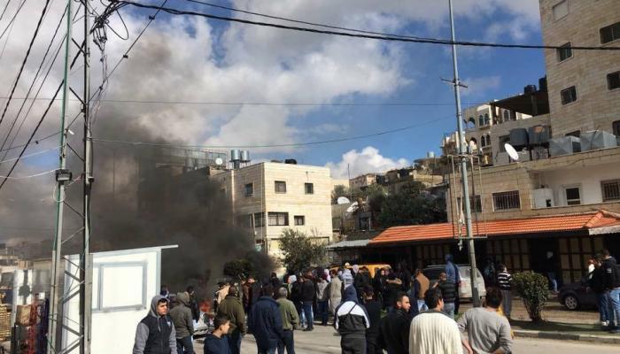 الأمن الوقائي يُطلق النار على شاب من مخيم الدهيشة للاجئين
