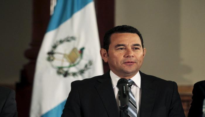جيمي موراليس رئيس غواتيمالا
