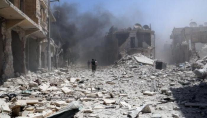 """مخيم درعا تحت القصف """" أرشيف"""""""