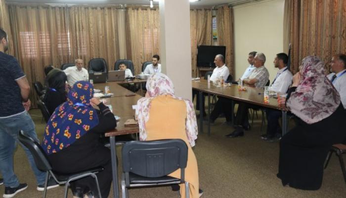 بلديّة مخيّم النصيرات تعقد ورشة عمل حول دمج ذوي الإعاقة