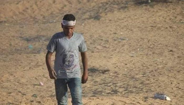 استشهاد طفل مُتأثراً بجراح أصيب بها أثناء مشاركته في مسيرة العودة شرقي رفح