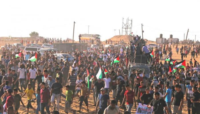 شهيدان وإصابات في صفوف مُتظاهري مسيرات العودة