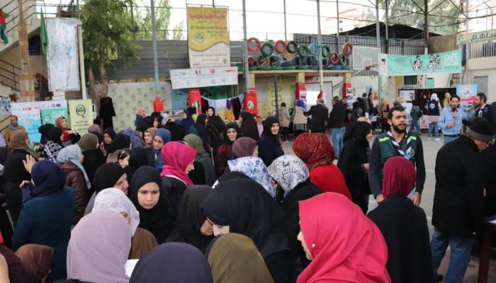 معرض شمالي لبنان لاستعراض الخدمات المتوافرة للاجئين الفلسطينيين النازحين من سوريا