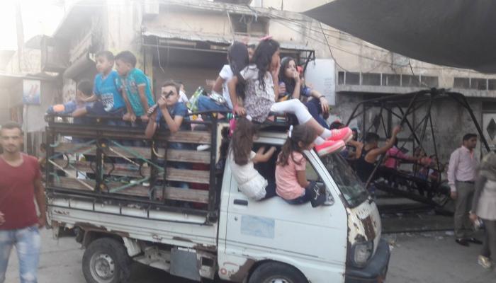 مخيّم النيرب في حلب مركزاً للعيد في المدينة وشكاوى من الألعاب المؤذيّة