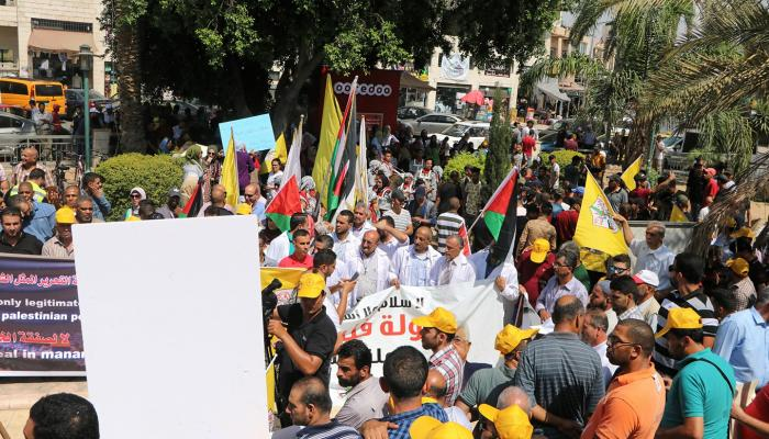 غضب في فلسطين و رئاسة السلطة تؤكد: أي إجراءات أحادية الجانب إلى طريق مسدود