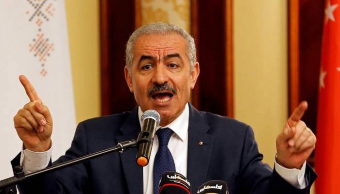 رئيس حكومة السلطة الفلسطينية محمد اشتية