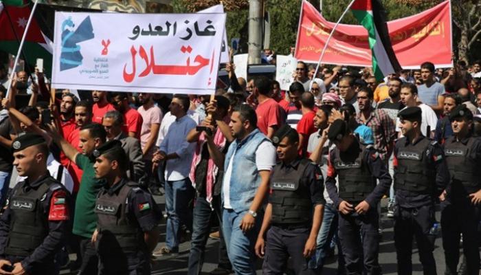 الأردن: إحراق مُحوّلات كهرباء تُغذّي محطة تحويل الغاز من الكيان الصهيوني