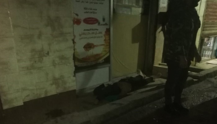 الجاني قتل نفسه - مخيم برج البراجنة