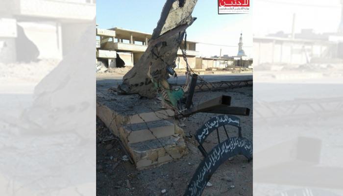 الدمار في مخيم خان الشيح (أرشيفية)