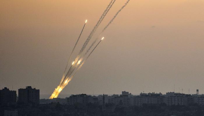 سقوط أربعة صواريخ في المستوطنات بالأراضي المحتلة بمحيط قطاع غزة