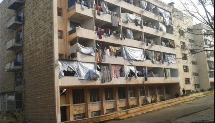 الوحدة التاسعة بالمدينة الجامعية في حلب