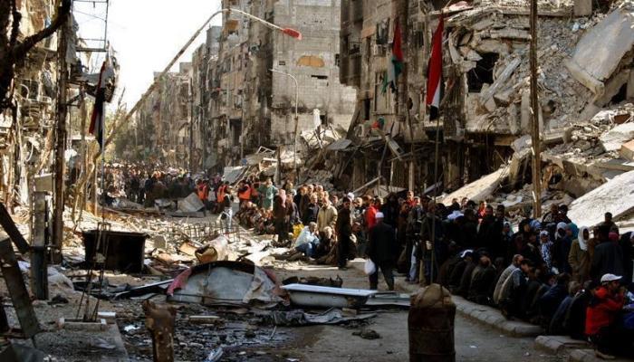 اللاجئون الفلسطينيون في سورية يُناشدون