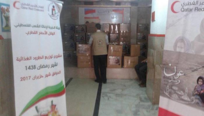 """""""الخيريّة"""" توزّع طرود غذائية للاجئين الفلسطينيين في منطقة وادي الزينة"""