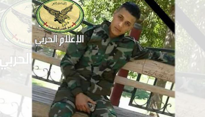 """اللاجئ """"ياسين فياض"""" أحد مرتبات جيش التحرير"""