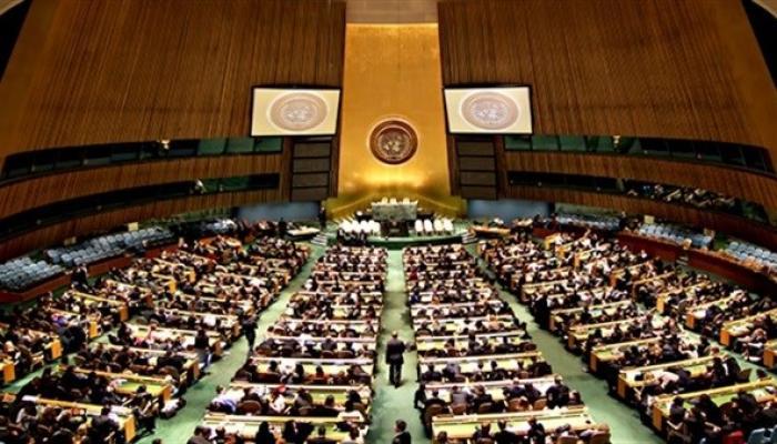 """الجمعية العامة للأمم المتحدة تعتمد مشروع قرار """"حق الشعب الفلسطيني في تقرير المصير"""""""