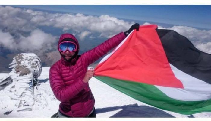 المتسلقة الفلسطينية الأردنية نهى أحمد البلبل