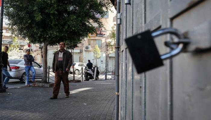 إغلاق طرق وإعلان إضراب شامل في فلسطين المحتلة