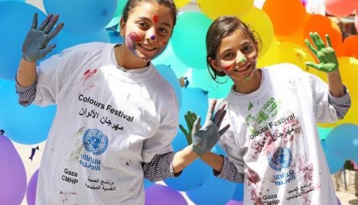 الأونروا تستمر في تقديم الدعم النفسي للاجئين الفلسطينيين