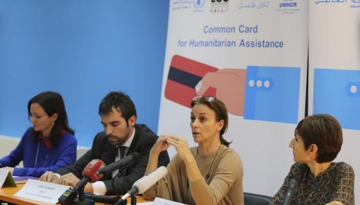 """وكالات إغاثية تطلق """"البطاقة المشتركة"""" الخاصة بالمساعدات الإنسانية في لبنان"""