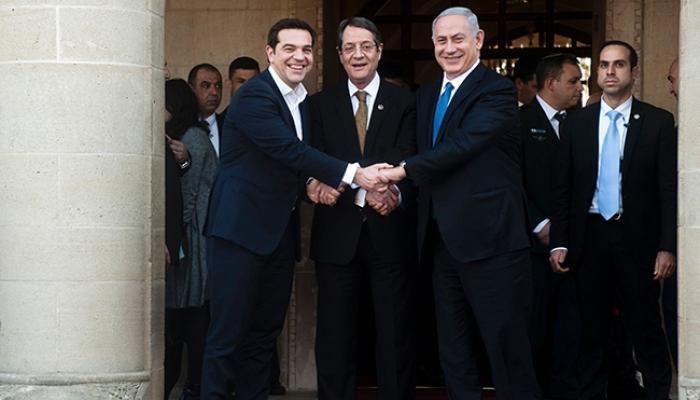 """اتفاق بين الكيان الصهيوني وقبرص واليونان على تشكيل """"حلف إقليمي"""" لمواجهة حالات الطوارئ"""