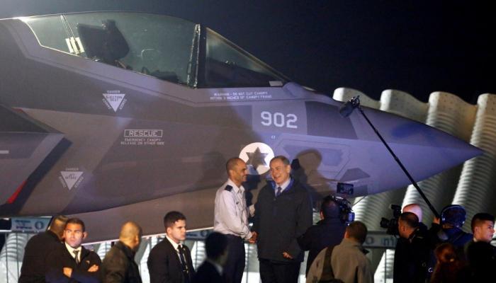 وصول الدفعة الأولى من طائرات الجيل الخامس التي صنعت في أميركا إلى الكيان الصهيوني