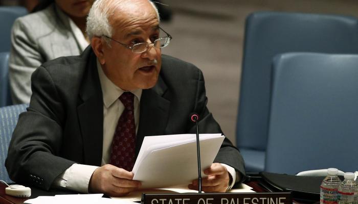 رياض منصور المندوب الدائم لدولة فلسطين لدى الأمم المتحدة