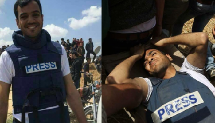 """""""الأورومتوسطي"""" يدعو إلى فتح تحقيق دولي عاجل في استهداف قوات الاحتلال للصحفيين"""