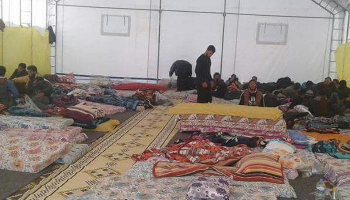 """مهجّرو مخيّم خان الشيح في ادلب يناشدون """"الأونروا"""" شملهم بالمساعدات الماليّة"""