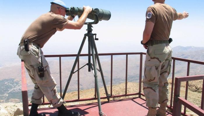قوات الأمم المتحدة تعود إلى مواقعها في الجانب السوري من الجولان