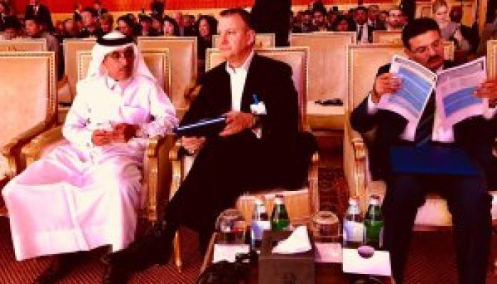 مُمثلين الكيان الصهيوني في المؤتمر