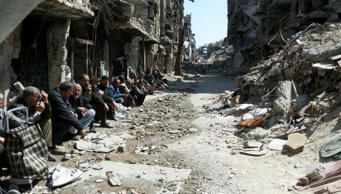 """""""داعش"""" يغلق الطريق الوحيد الواصل بين منطقة القدم ومخيم اليرموك"""