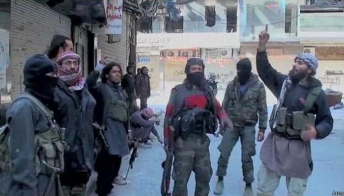 صورة أرشيفية لعناصر داعش