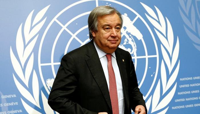 أمين عام الأمم المتحدة أنطونيو غوتيريس