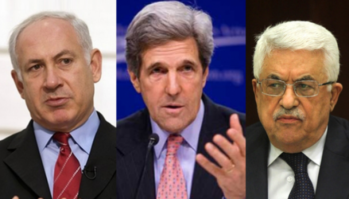 اجتمع عباس مع كيري في لقاء مغلق خلال أيلول الجاري على هامش أعمال الجمعية العامة للأمم المتحدة في نيويورك
