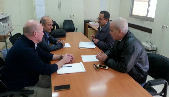مناقشة قضايا الإعمار في لقاء جمع مدير إعمار مخيّم نهر البارد والحراك الشعبي