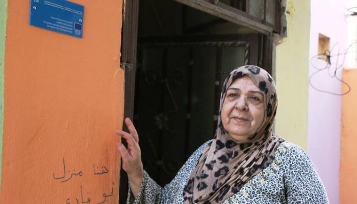 اللاجئة الفلسطينية حفيظة أبو حمدي