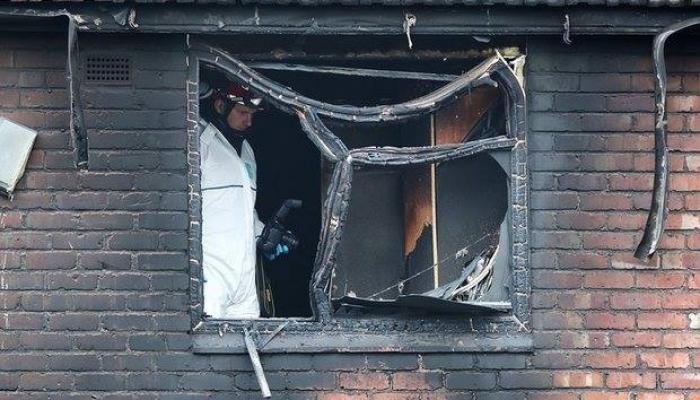 وفاة زوجان فلسطينيان في حريق بمدينة مانشستر