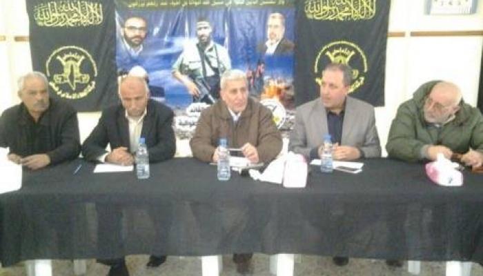 الفصائل الفلسطينية تناشد الرئيسين بري والحريري إنصاف متضرري شبريحا