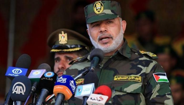 تفجير جيب اللواء توفيق أبو نعيم في النصيرات وسط قطاع غزة