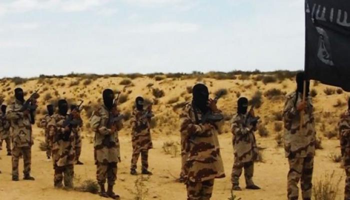 صورة أرشيفية لعناصر من تنظيم داعش