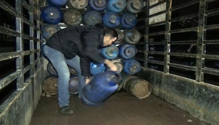 صورة أرشيفية لشاحنة غاز في سوريا