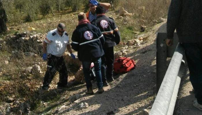 استشهاد فلسطيني دهسه مستوطن قرب مستوطنة