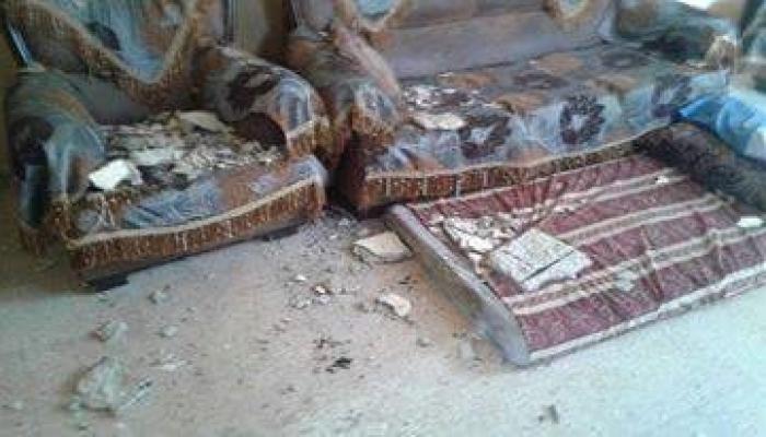 من منزل اللاجئ الفلسطيني وفيق مصلح