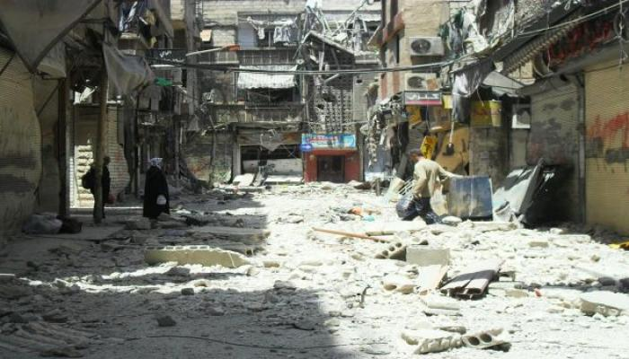 مخيم اليرموك (أرشيفية)
