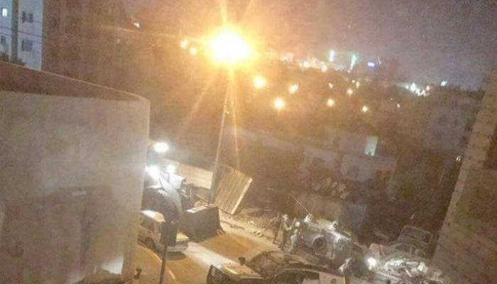 فلسطين المحتلة- من اقتحام مخيّم الأمعري للاجئين
