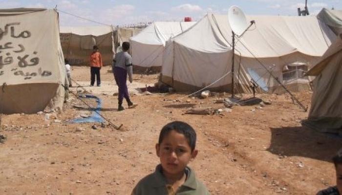 """فلسطينيون هجّروا من العراق عام 2006 """"الحدود السورية العراقية"""""""