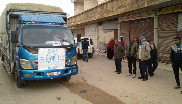 رغم المصالحة..الأمن السوري يصادر مساعدات إغاثية ويعتقل ناشطين من مخيم خان الشيح