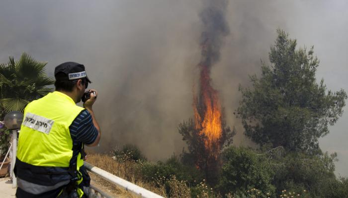 فلسطين المحتلة- قوات الاحتلال تعتقل عشرات الشبان الفلسطينيين