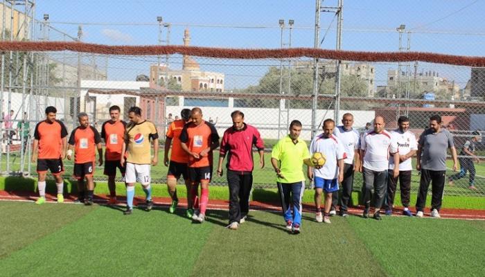 """اتحاد """"الرياضة للجميع"""" يُحيي ذكرى النكبة شمال قطاع غزة"""