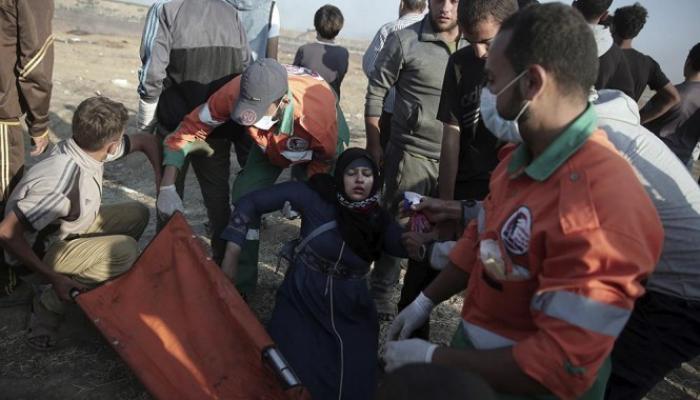 من قمع المتظاهرين في غزّة
